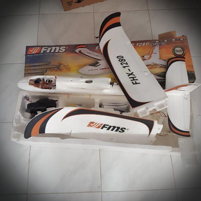 FMS Easy Trainer 1280 Pesawat Aeromodeling