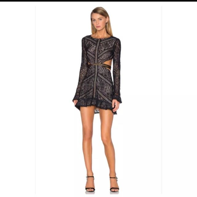 For Love and Lemons - Emerie Cut Out Dress (L)