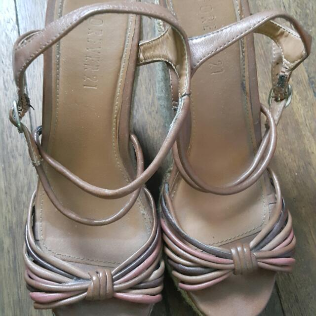 Forever 21 Wedge Shoes