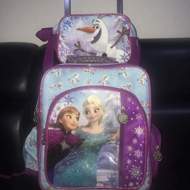 SALE!!!!!Frozen School Trolley Bag