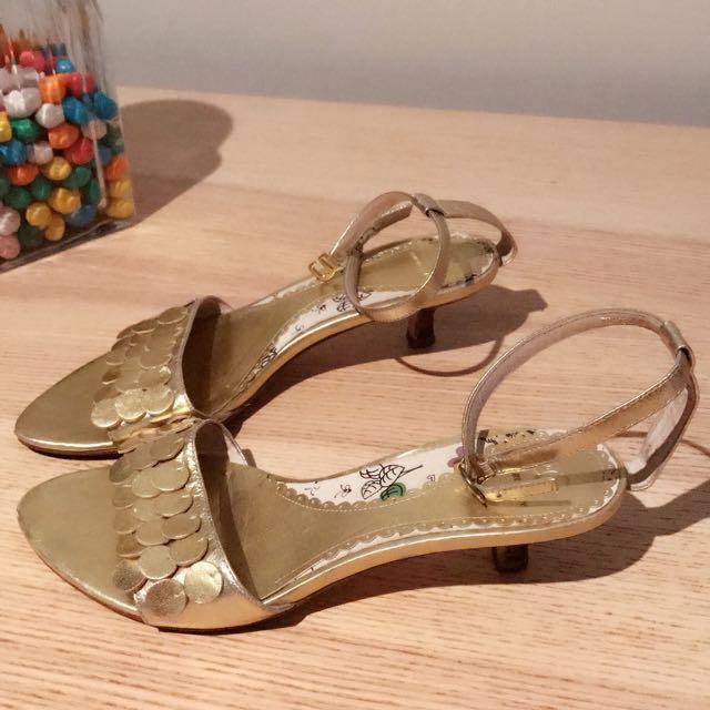 Golden Sandal/size 36