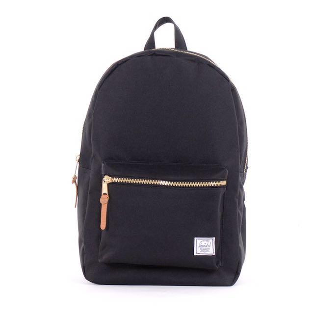 Herschel Settlement Backpack Gold And Black