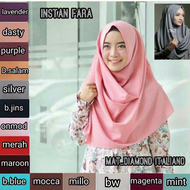 Hijab Instant Fara