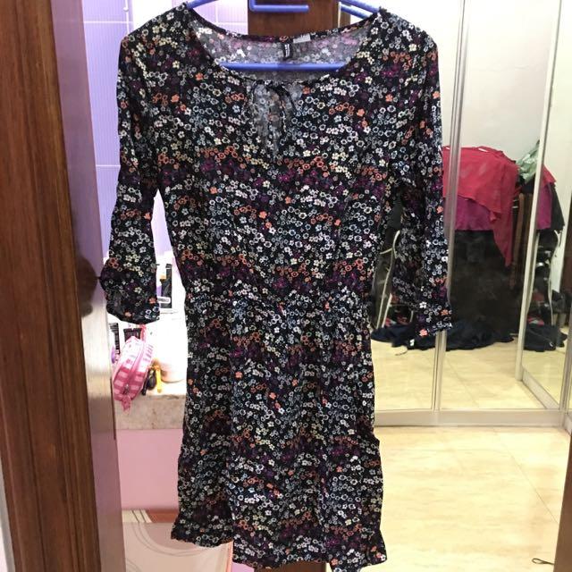 H&m Floral Dress (ukuran 36 / M)