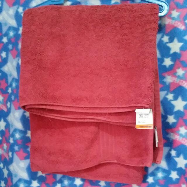 Imported Red Towel