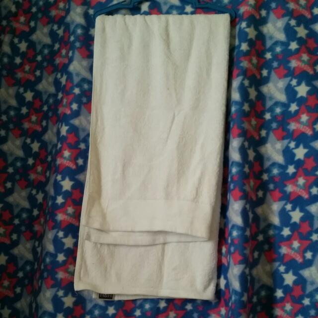 Imported White Towel