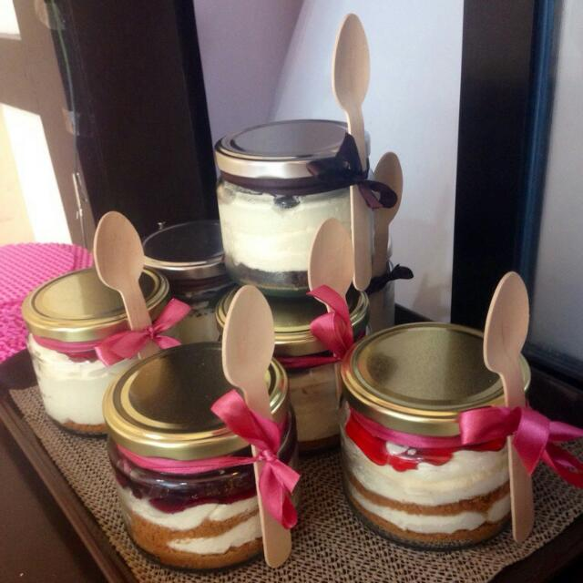 Jar cakes great for events