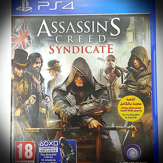 Kaset Original Assasins Creed Syndicate