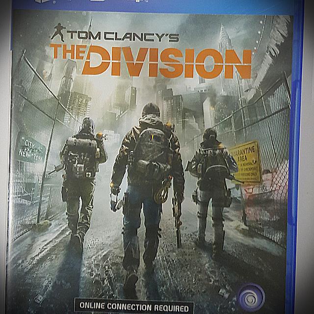 Kaset Original Ps 4 Tom Clancy's The Division