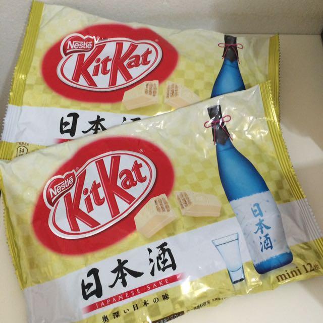 Kit Kat Sake Made In Japan