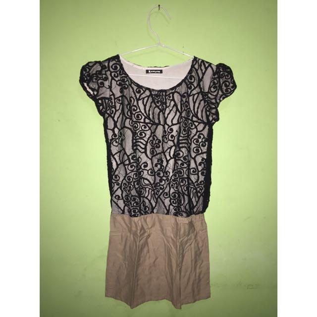 Lace Jumpsuit Dress (Brokat)