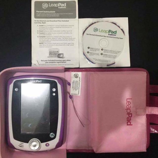 LeapFrog LeapPad1 Explorer, Learning Tablet, pink