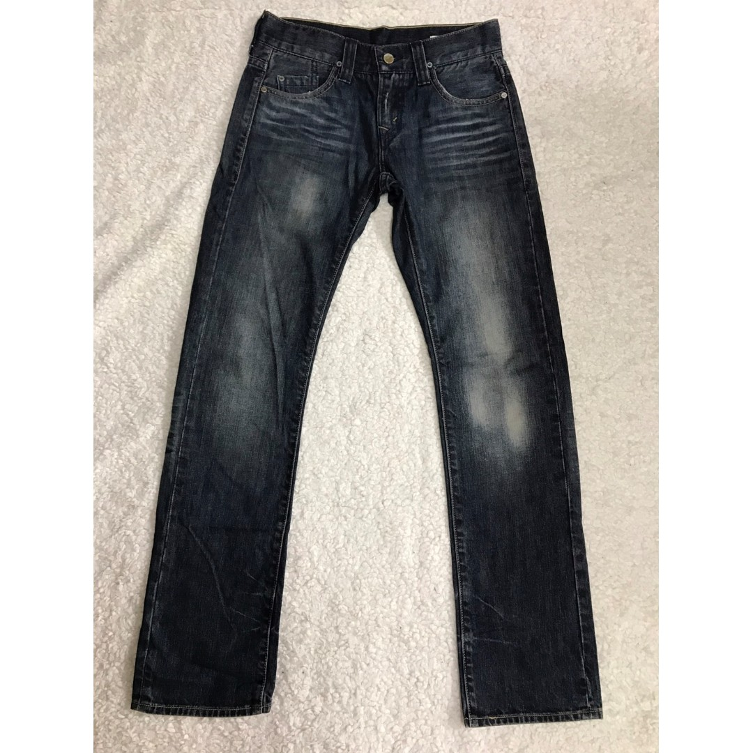 LEVI'S LEVIS PR522-0014 W28 L32 刷色合身牛仔褲 501 502 505 523 511