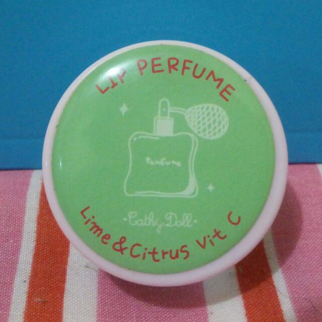 LIP PERFUME CATHY DOLL-Lime & Citrus with Vit C