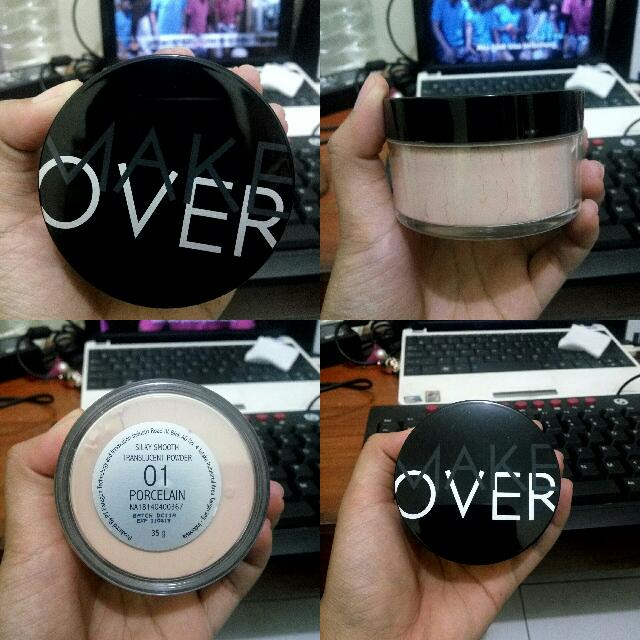 Make Over Sliky Smooth Translucent Powder (Porcelain/01)