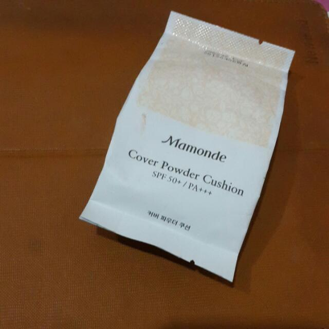 Mamonde Refill Cover Powder Cushion with puff