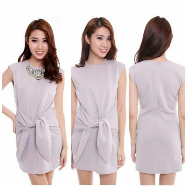 7becf2ba402 MDS Adriel Wrap Dress