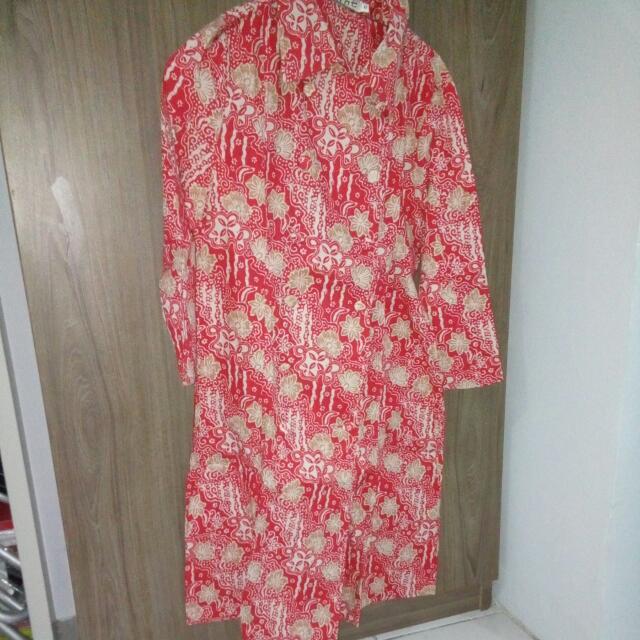 Mint Mini Dress Batik