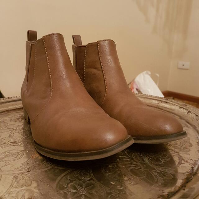 Miss Shop Brown Boots Size 7
