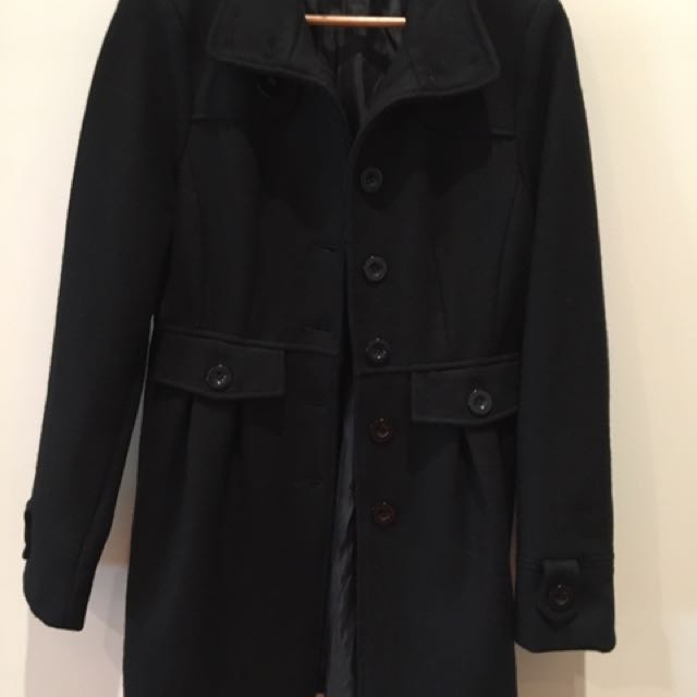 Mossimo Wool Winter Coat Size