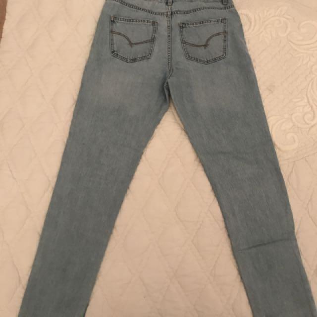 Sportsgirl Mum Style Blue-wash Jeans