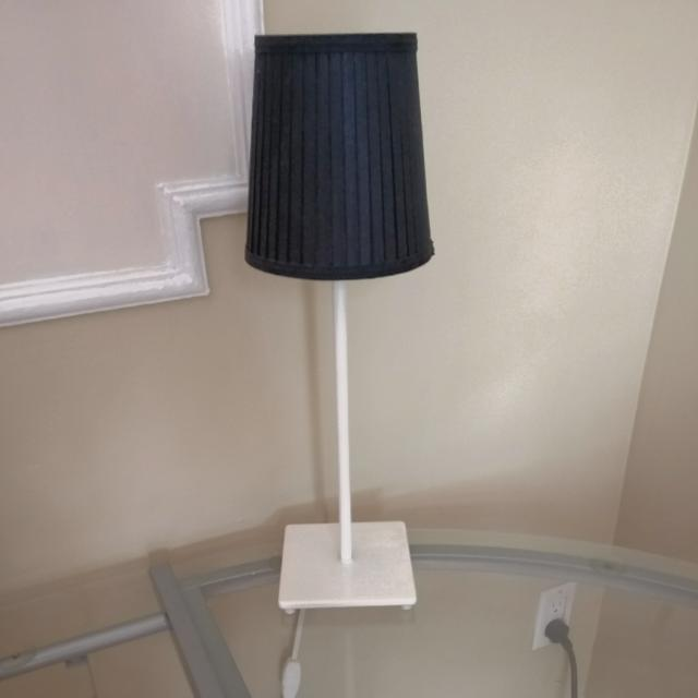Nightstand Lamp In 2 Colours