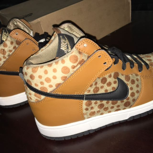 Nike High Tops Leopard- Size 40