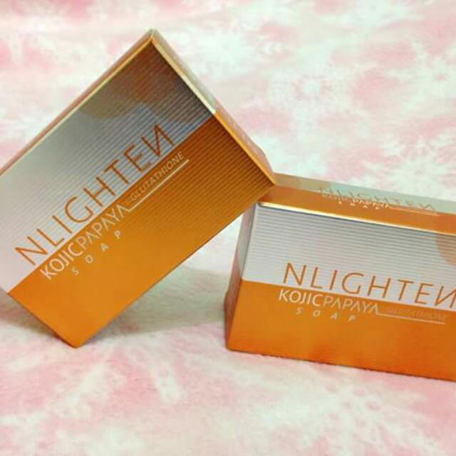 Nlighten Kojic Papaya w/ Glutathione soap
