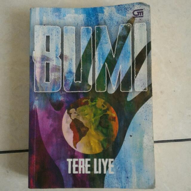 Novel BUMI Tere Liye