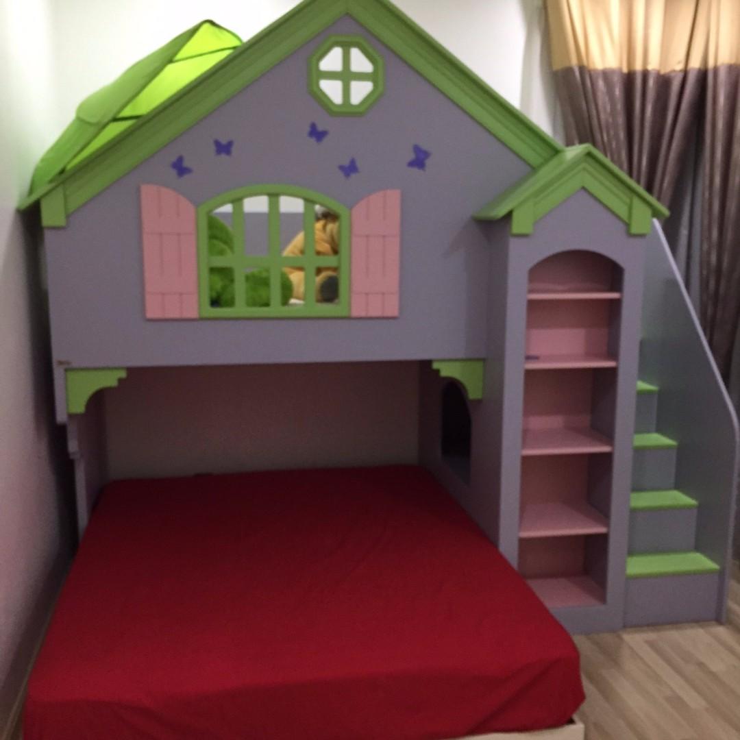 Olivia Dollhouse Playbunk Bed Tomatokidz Babies Kids On Carousell