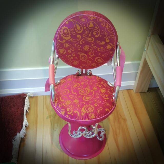 Our Generation Hair Styling Chair!