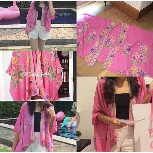 outer kimono batik