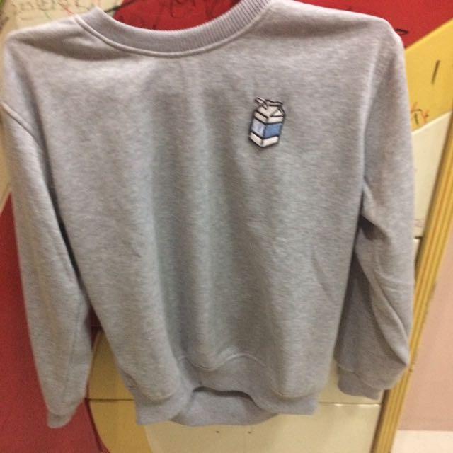 patch sweater abu abu