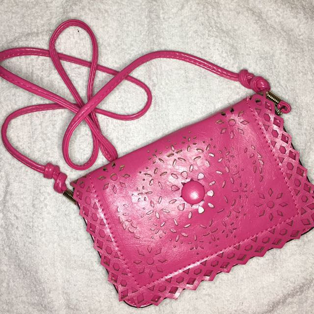 Pink Sing Bag or Body Bag