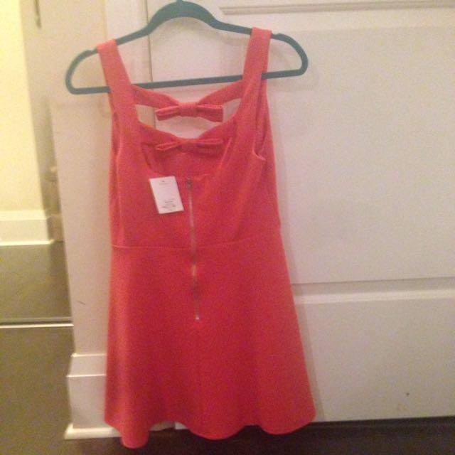 Pink Top Shop Dress