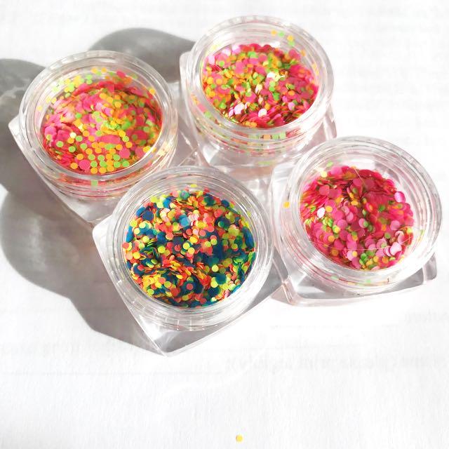 Plastic Neon Glitter/Confetti