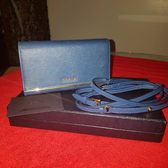 Prada Wallet With Sling
