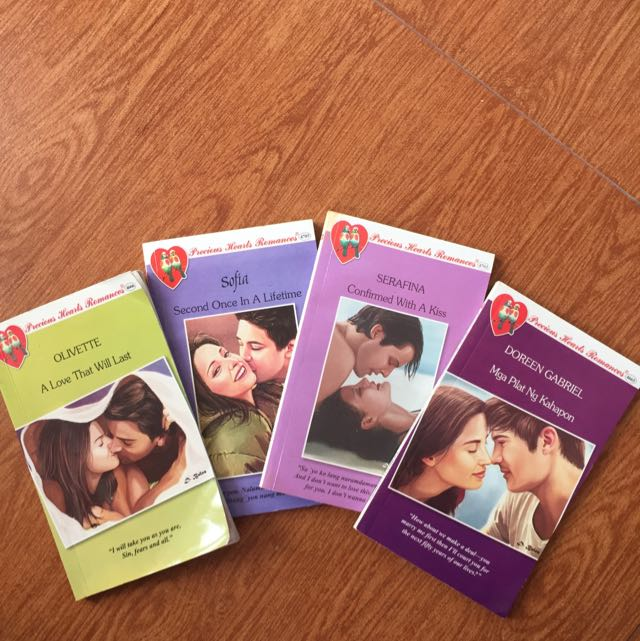 Precious Hearts Romances pocketbook collection