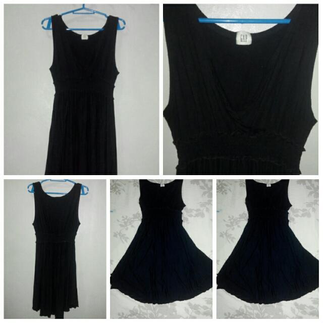 Preloved Gap Black Dress