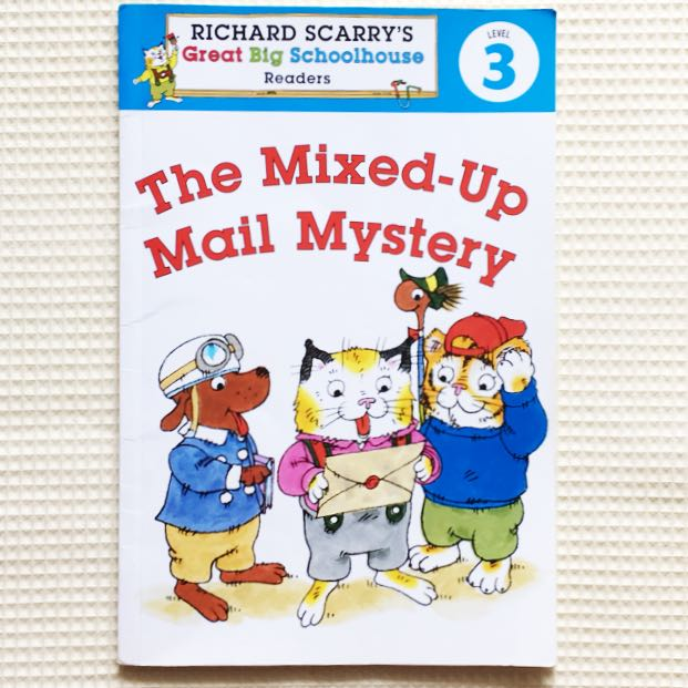 Richard Scarry's Readers (Level 3): The Mixed-Up Mail Mystery (Richard Scarry's Great Big Schoolhouse)