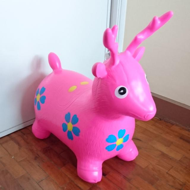 Rubber Toy Donkey (with Free Toy)