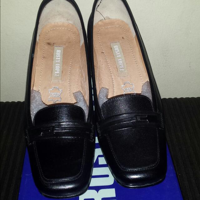 Rusty Lopez Black Office Shoes Size 6