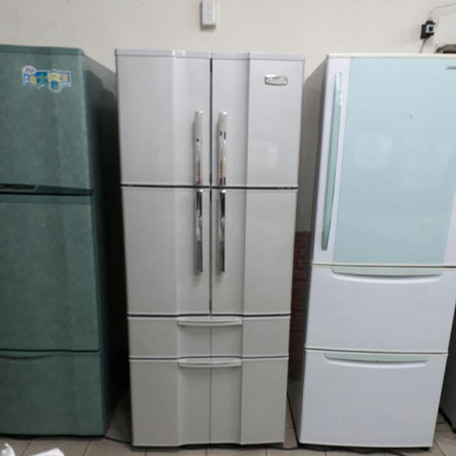 SANYO三洋615公升六門冰箱