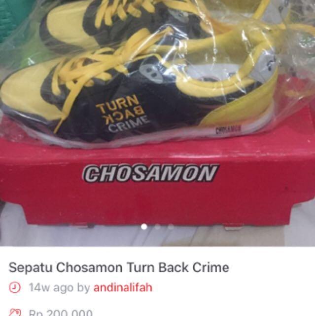 Sepatu Chosamon