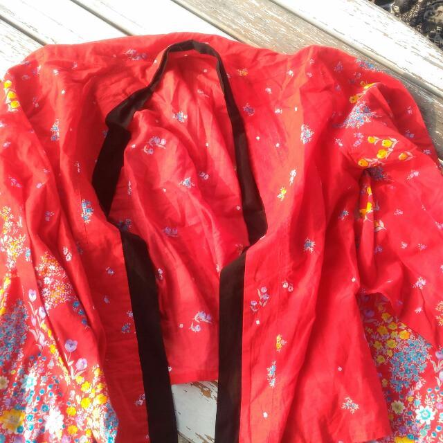Summer Kimono Cropped