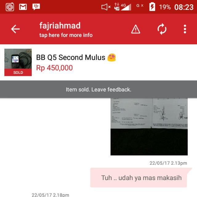 Testi BB Q5 Second 😍