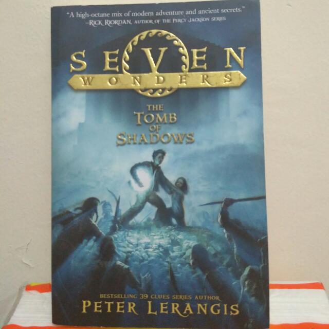 Tomb Of Shadows (Seven Wonders Series) - Peter Lerangis