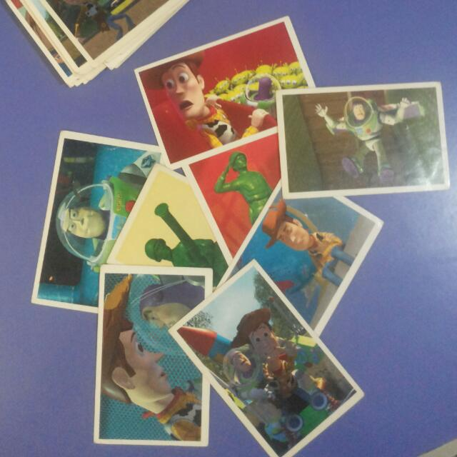Toy Story Panini Stickers