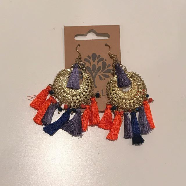 Tree Of Life Handmade Earrings