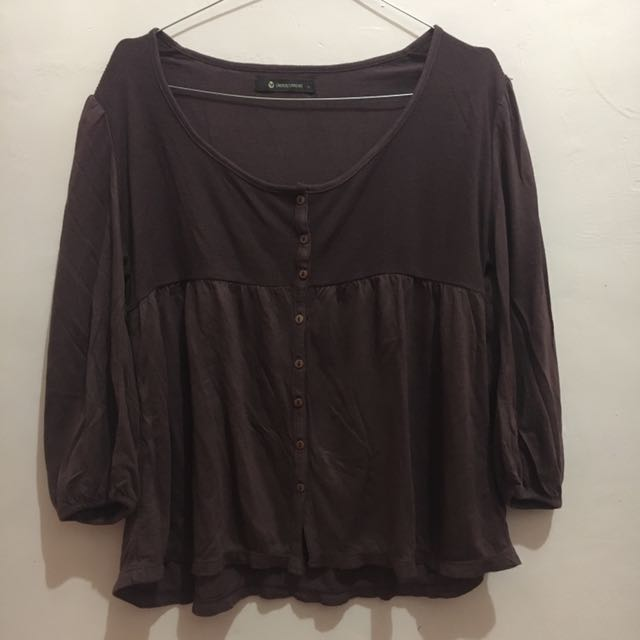 T-shirt Undercurrent Brown